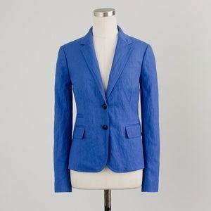 J.Crew Linen Schoolboy Blazer Size 4